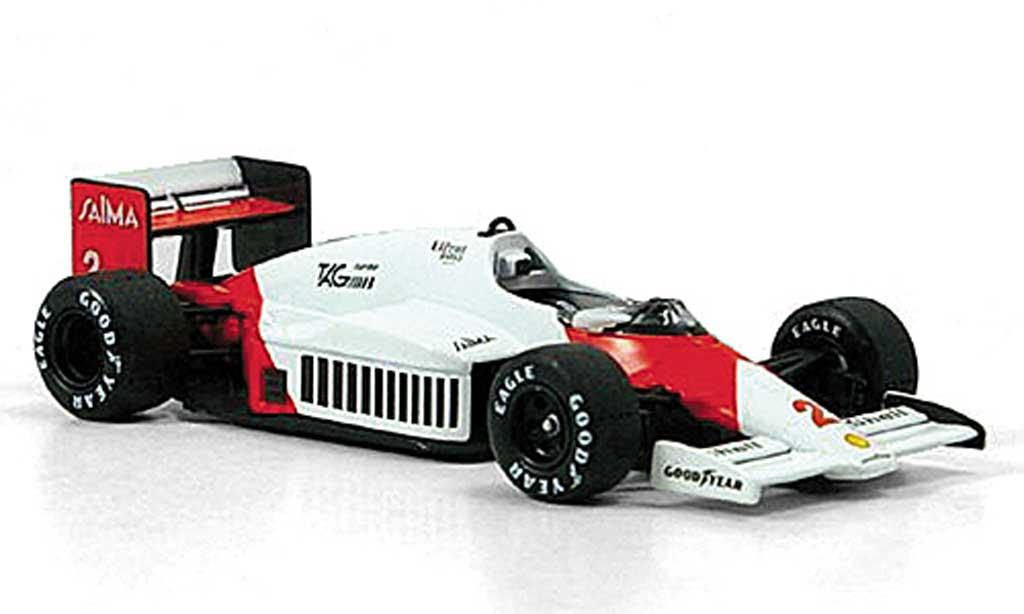 McLaren F1 1985 1/43 Solido 1985 MP4/2 B No.2 A.Prost diecast model cars