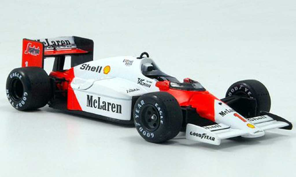 McLaren F1 1986 1/43 Solido 1986 MP4/2 C No.1 A.Prost diecast model cars