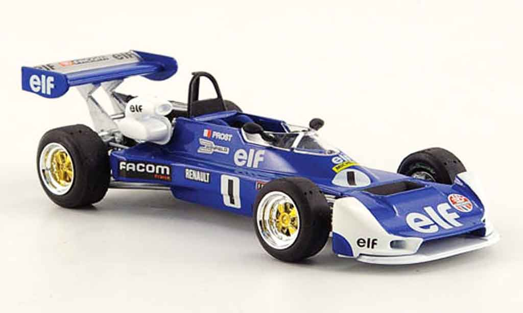 Renault F1 1/43 Solido mk 20 no.1 a.prost 1977 miniature