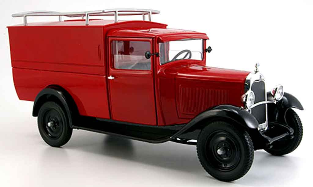 Citroen C4 1930 1/18 Solido kastenwagen diecast model cars