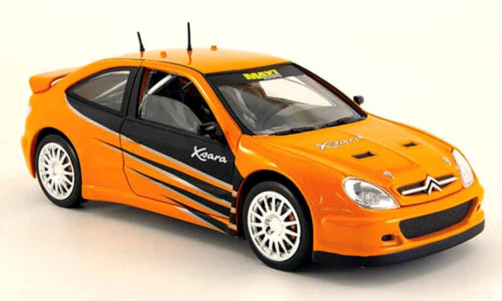 citroen xsara tuning orange solido modellauto 1 18. Black Bedroom Furniture Sets. Home Design Ideas
