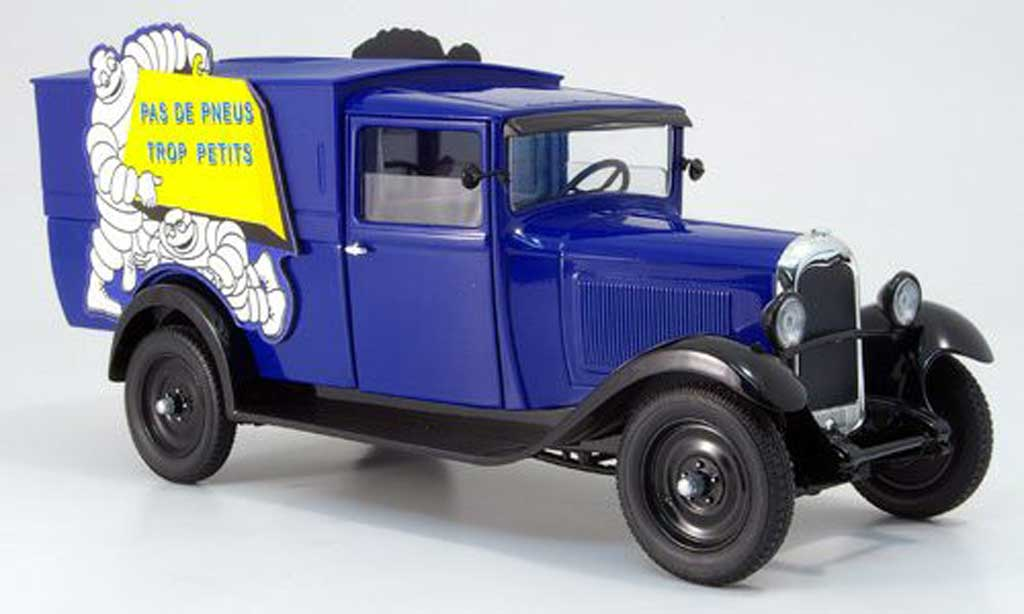 Citroen C4 1930 1/18 Solido lieferwagen michelin diecast model cars