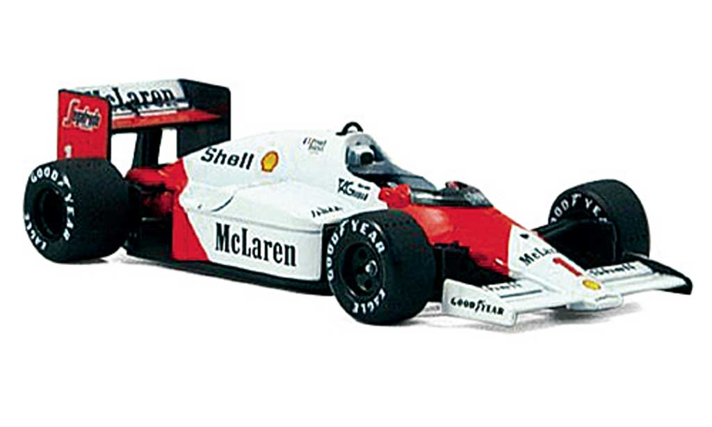 McLaren F1 1986 1/43 Solido 1986 MP4/2 C No.1 A.Prost Collection Exklusiv diecast model cars