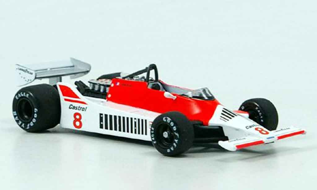 McLaren M29 1/43 Solido A.Prost Collection Exklusiv 1980 miniature