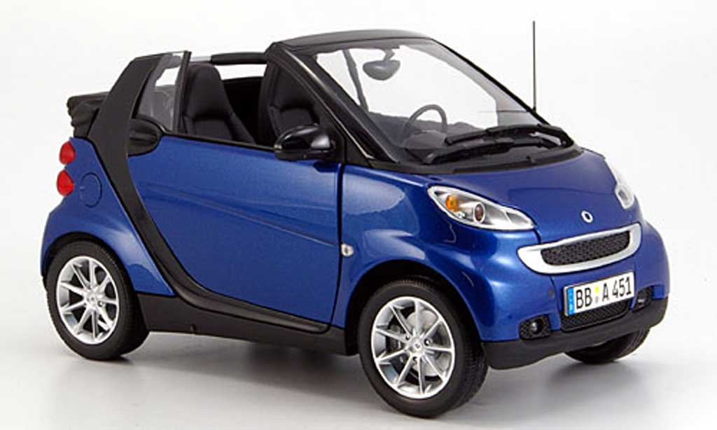 smart fortwo cabrio 2007 minichamps diecast model car 1 18 buy sell diecast car on alldiecast. Black Bedroom Furniture Sets. Home Design Ideas