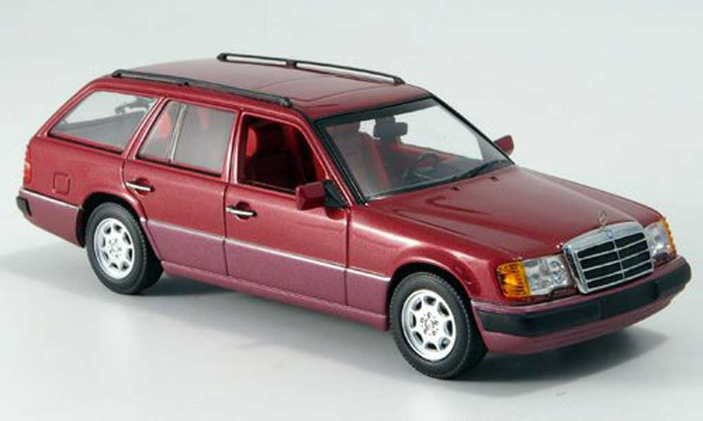 Mercedes 300 TE 1/43 Minichamps met.rouge 1990 miniature