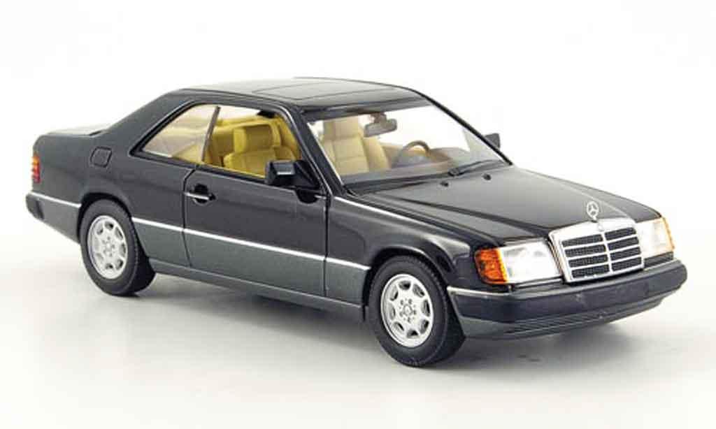 Mercedes 300 Ce Black 1990 Minichamps Diecast Model Car 1