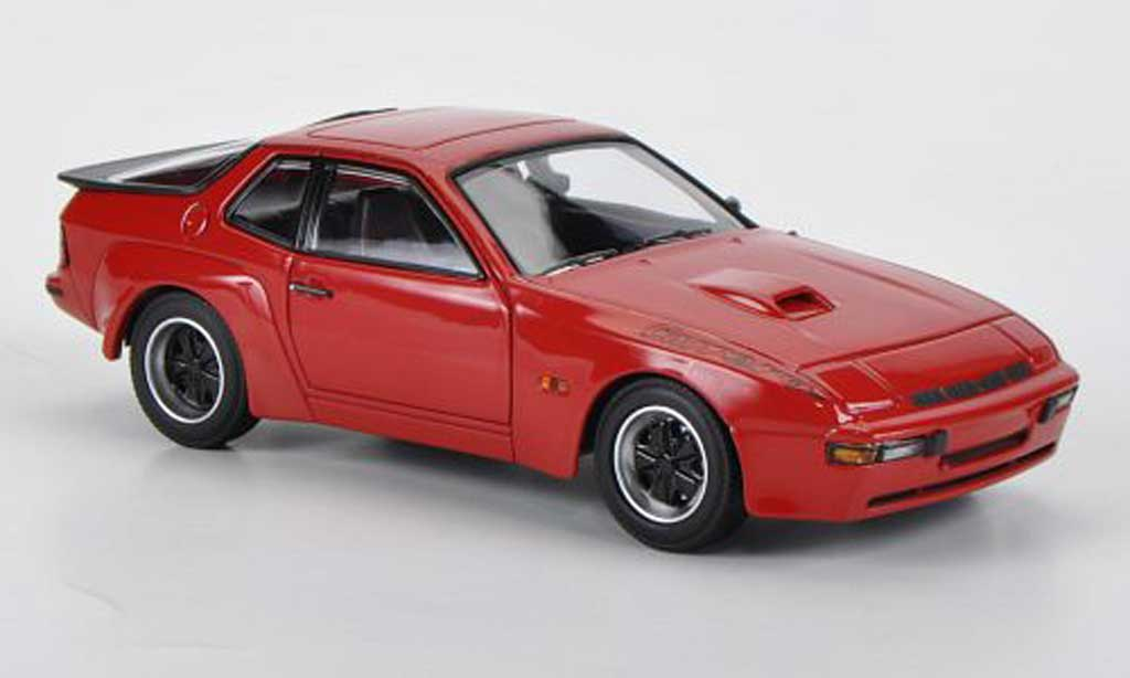 Miniature Porsche 924 1981 Carrera GT rouge Minichamps. Porsche 924 1981 Carrera GT rouge miniature 1/43