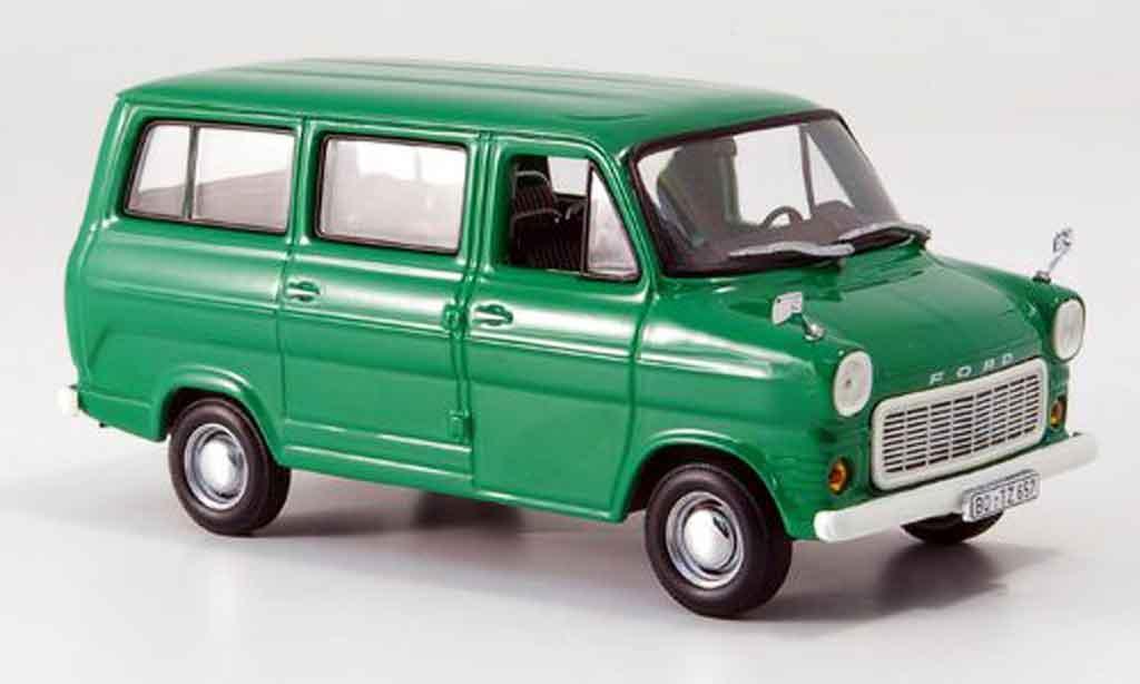 Ford Transit 1/43 Minichamps Bus grun 1974 miniature