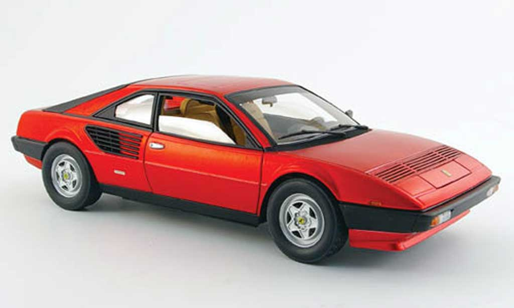 Ferrari Mondial 1/18 Hot Wheels Elite 8 serie elite rouge 60.geburtstag miniature
