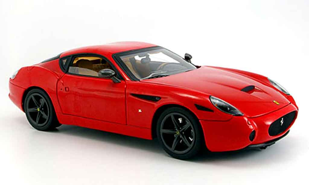 Ferrari 575 GTZ 1/18 Hot Wheels Elite zagato rouge serie super elite miniature