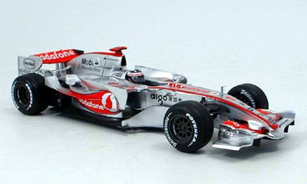 McLaren F1 2007 1/18 Hot Wheels no.1 vodafone f.alonso miniature
