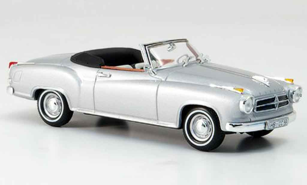 Borgward Isabella 1/43 Minichamps Coupe Cabrio 1959 miniature