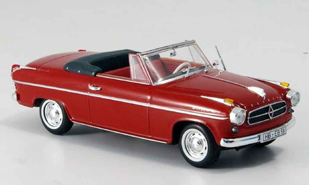 Borgward Isabella 1/43 Minichamps Cabrio 1959 miniature