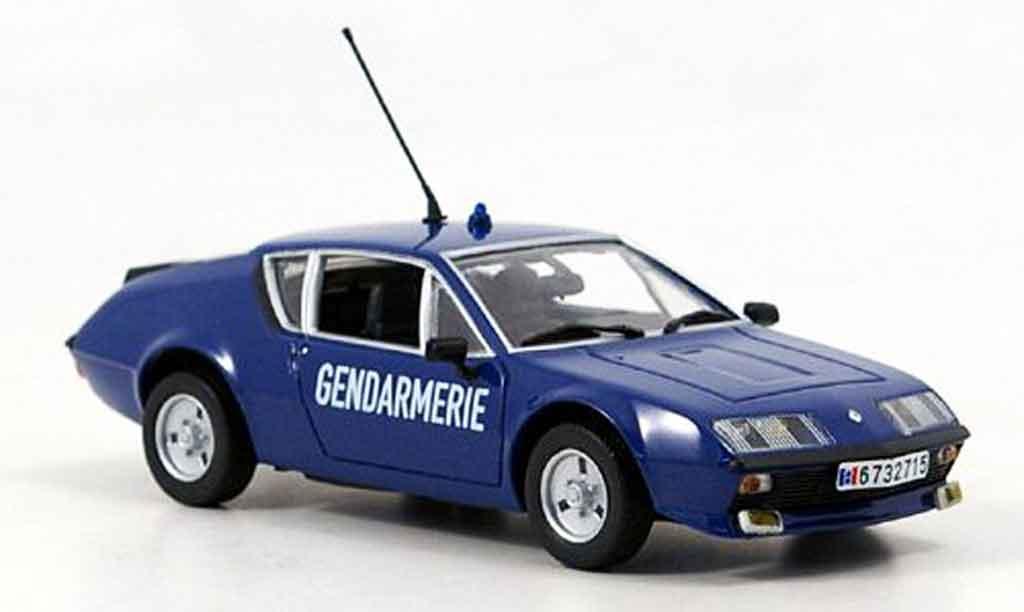 Alpine A310 1/43 Minichamps gendamerie miniature