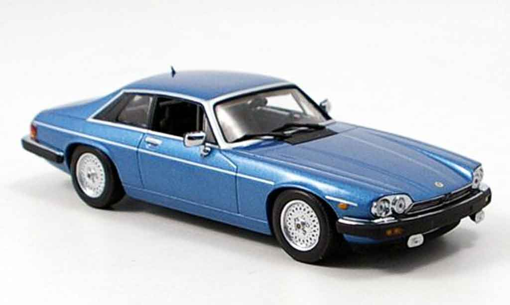 Jaguar XJS 1980 1/43 Minichamps coupe bleu miniature