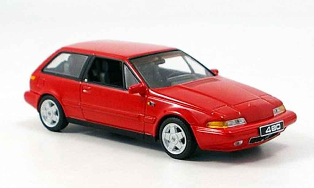 Volvo 480 1/43 Minichamps ES rouge 1986
