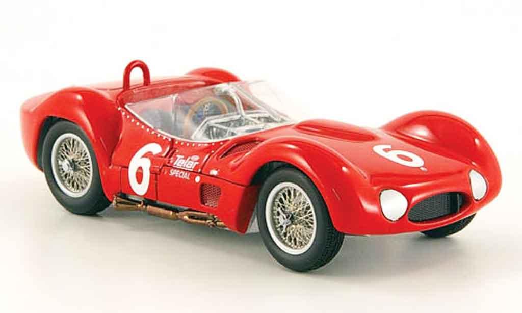 Maserati Tipo 1/43 Minichamps 61 birdcage r.penske sieger scca 1961 miniature