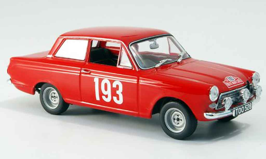 Ford Cortina 1/43 Minichamps MK I Rally Monte Carlo 1963 miniature