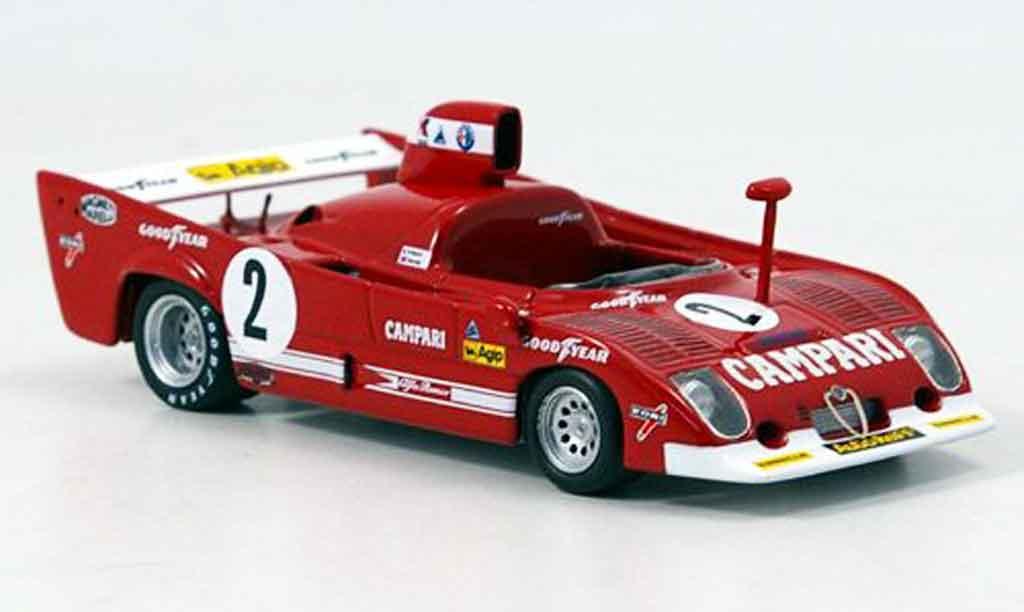 Alfa Romeo 33.3 1975 1/43 Minichamps tt 12 no.2 pescarolo sieger 1000 km spa miniature
