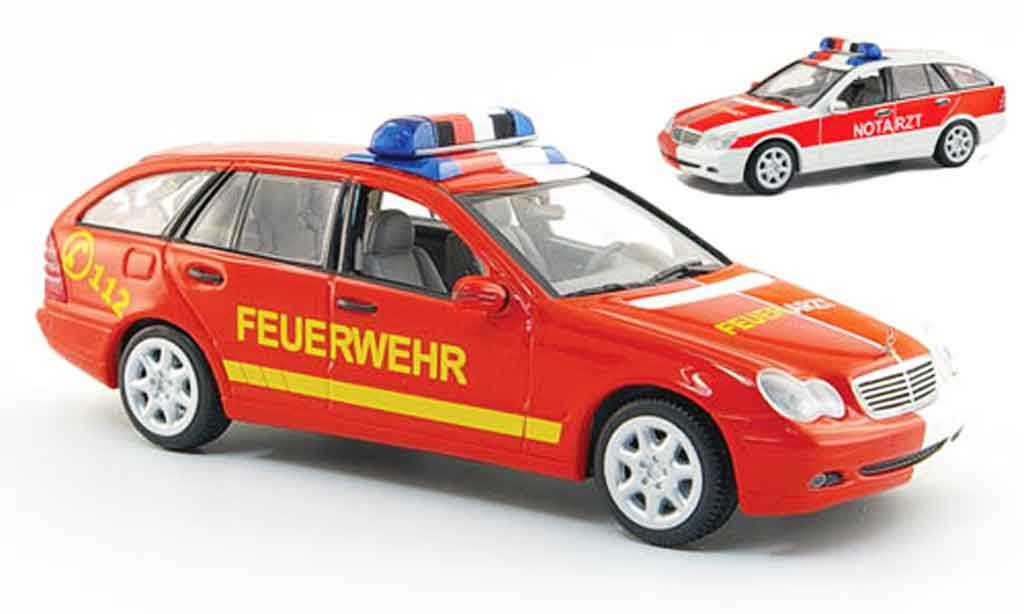 Mercedes Classe C 1/43 Minichamps T Modell NEF 2001 miniature