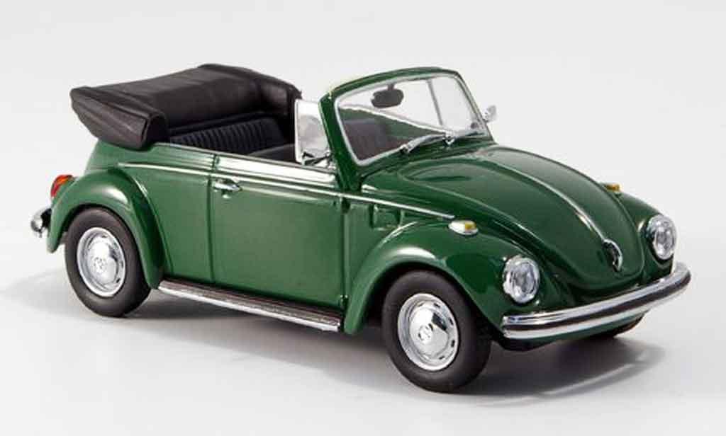 Volkswagen Coccinelle 1/43 Minichamps 1302 cabrio verte 1970 miniature