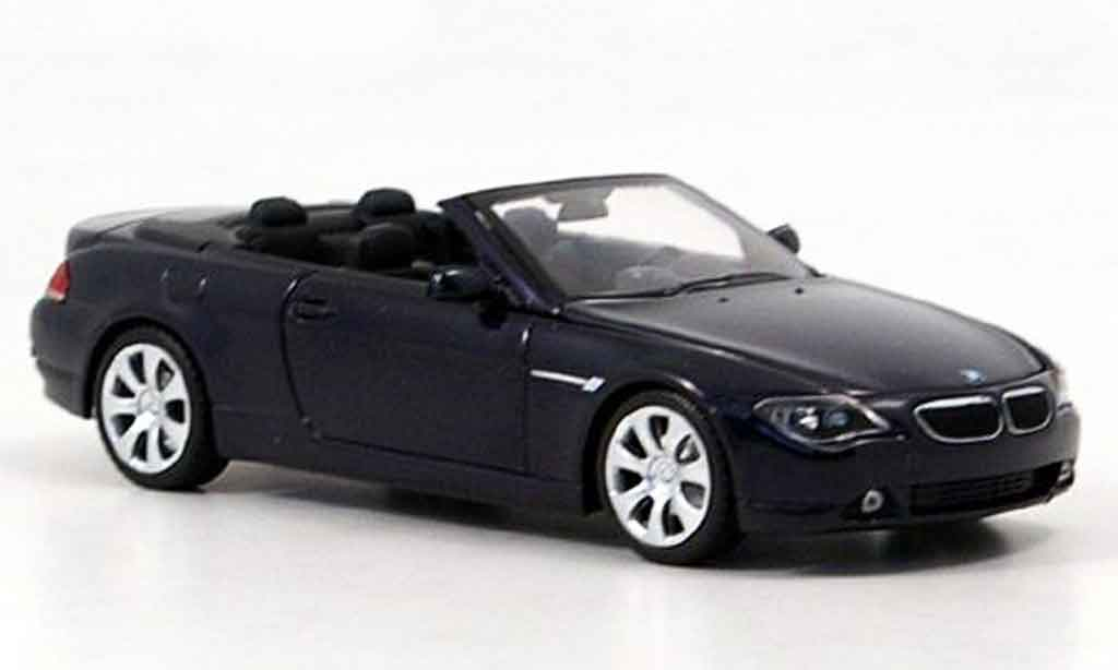 Bmw 630 E64 1/43 Minichamps Cabrio 2006 diecast model cars