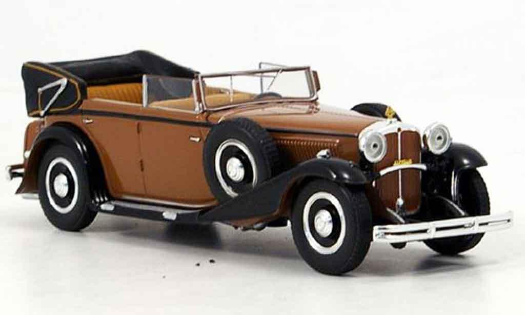 Maybach V12  DS8 1/43 Minichamps V12 DS8 Zeppelin marron 1932 miniature