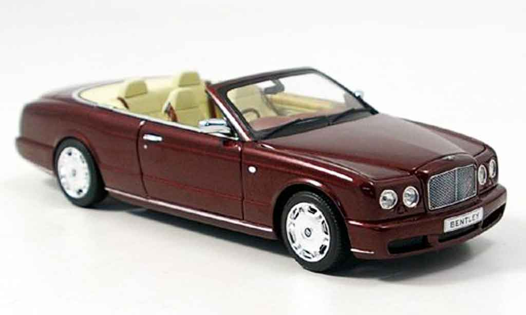 Bentley Azure 1/43 Minichamps Cabrio rouge 2005 miniature