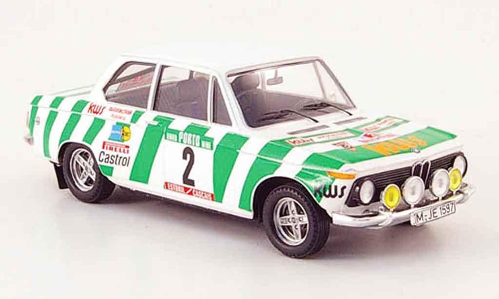 Bmw 2002 Tii 1/43 Trofeu No.2 Warmbold Davenport Rally Portugal 1975 miniature