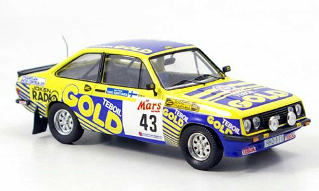 Ford Escort RS 2000 1/43 Trofeu No.43 Kankkunen 1000 Lakes 1979 diecast