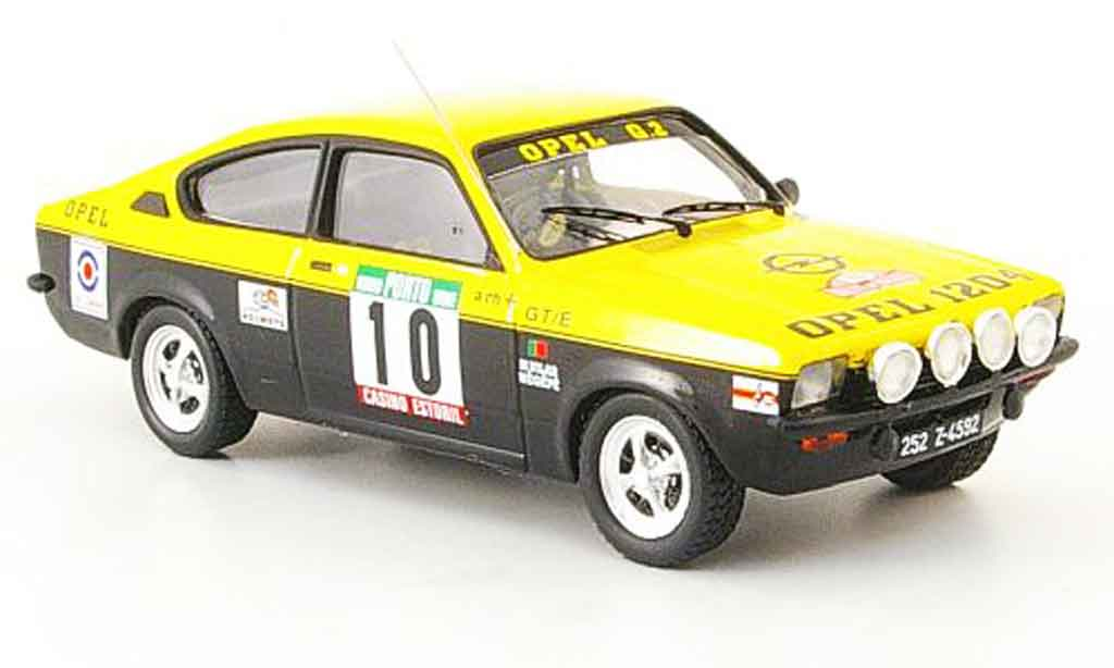 Opel Kadett GT 1/43 Trofeu e meqepe sieger rallye portugal 1977