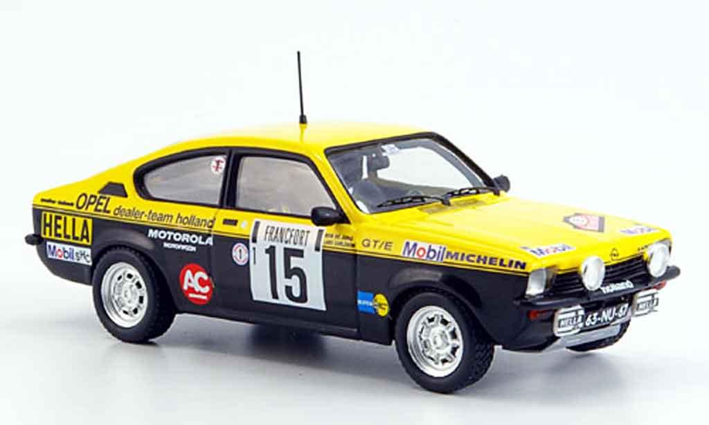 Opel Kadett GT 1/43 Trofeu e carlsson rallye monte carlo 1977 miniature