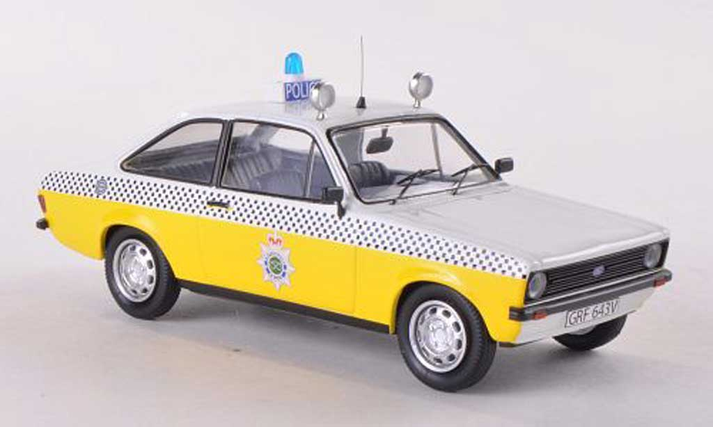 Ford Escort MK2 1/43 Trofeu Staffordshire Police Polizei (GB) 1980 miniature