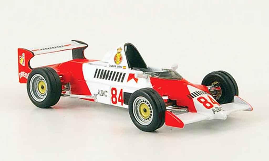 Reynard 84SF 1/43 IXO Formel Ford C.Sainz miniature