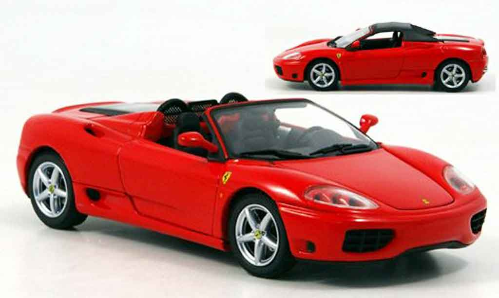 ferrari 360 modena spider rot kyosho modellauto 1 43. Black Bedroom Furniture Sets. Home Design Ideas