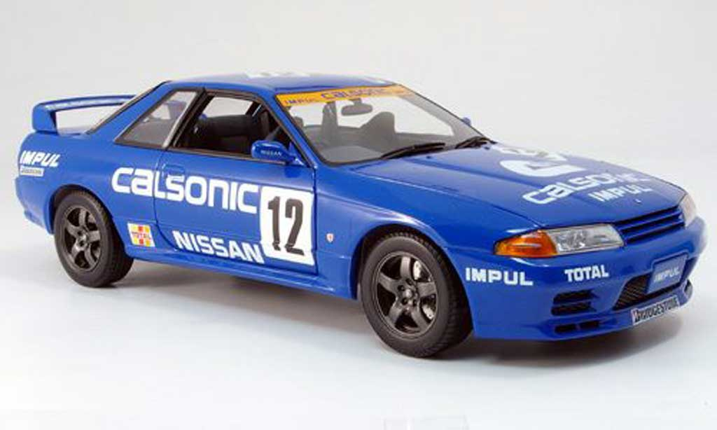 nissan skyline r32 gt r bnr calsonic kyosho modellauto 1 18 kaufen verkauf modellauto online. Black Bedroom Furniture Sets. Home Design Ideas