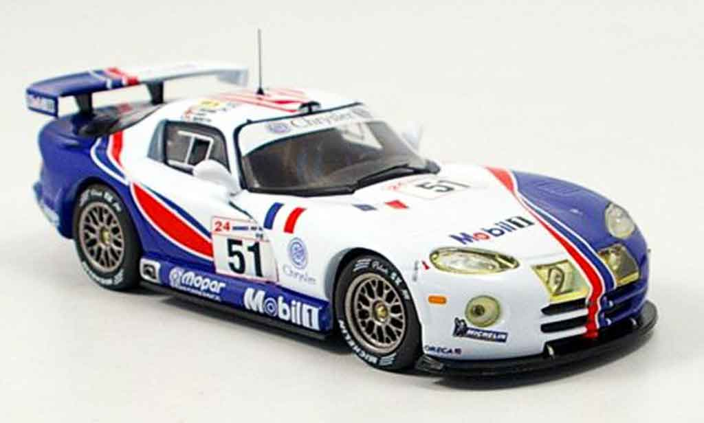 Dodge Viper GTS R 1/43 IXO No.51 Team Oreca Le Mans 1998 miniature