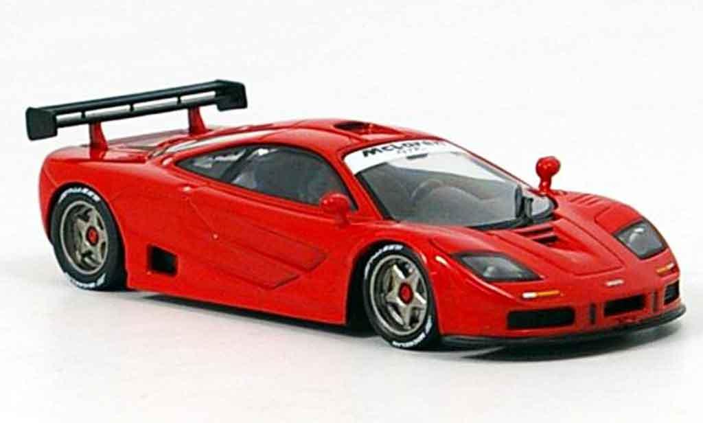 McLaren F1 GTR 1/43 IXO Prougeotyp rouge 1995 miniature