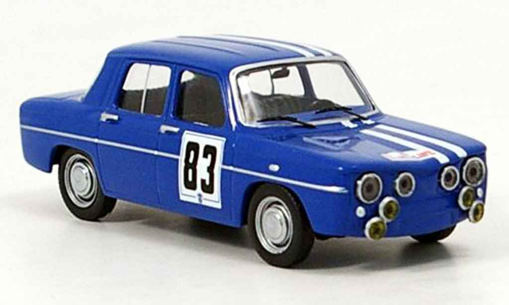 Renault 8 Gordini 1/43 IXO no.3 tour de course 1966 miniature