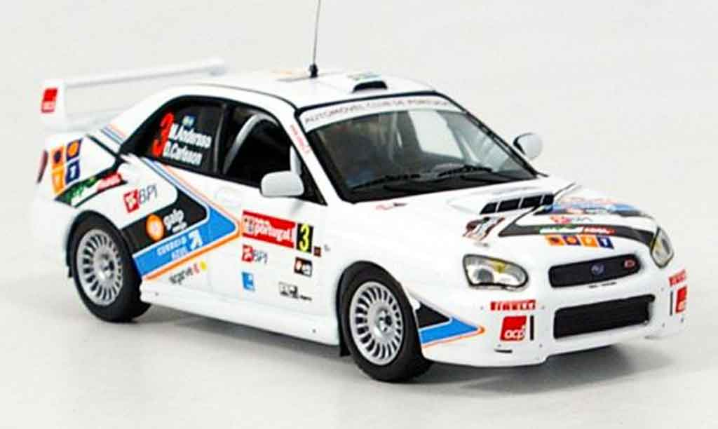 Subaru Impreza WRX 1/43 IXO no.3 sieger rallye portugal 2005 miniature