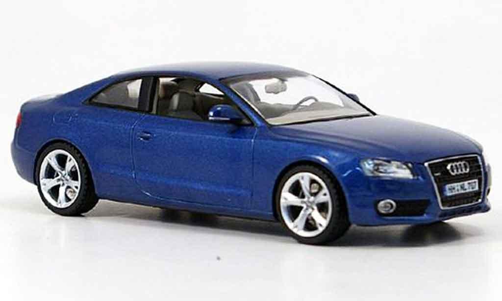 Audi A5 1/43 Schuco bleu 2007