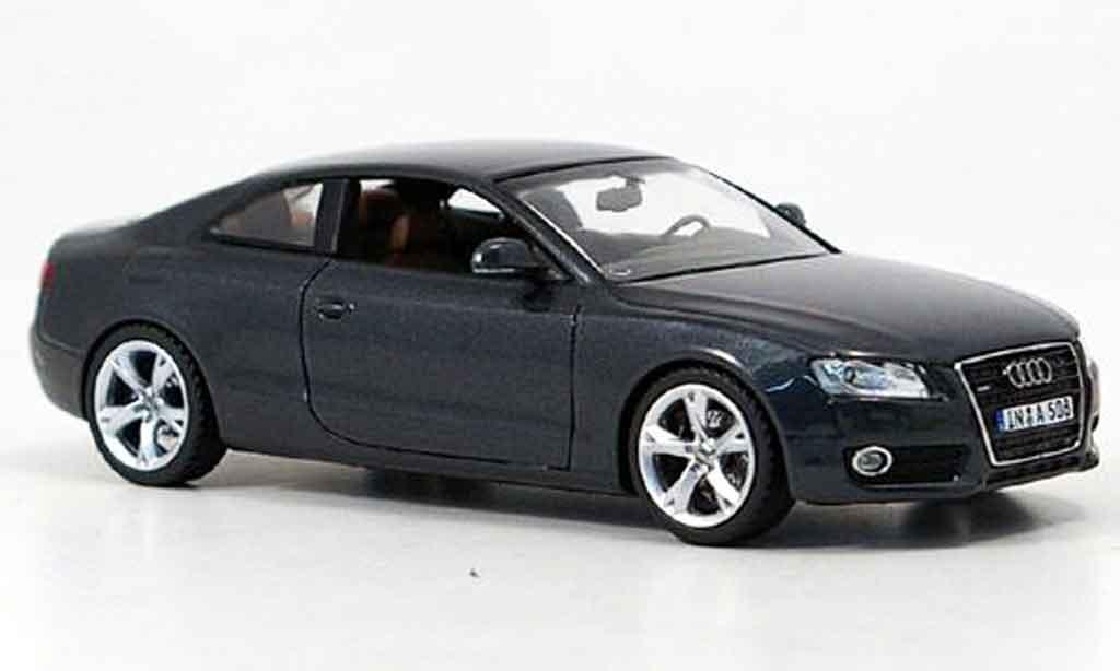 Audi A5 1/43 Schuco grise 2007 miniature