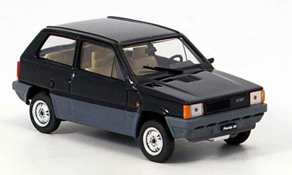 Fiat Panda 1/43 Brumm 30 noire 1980 miniature