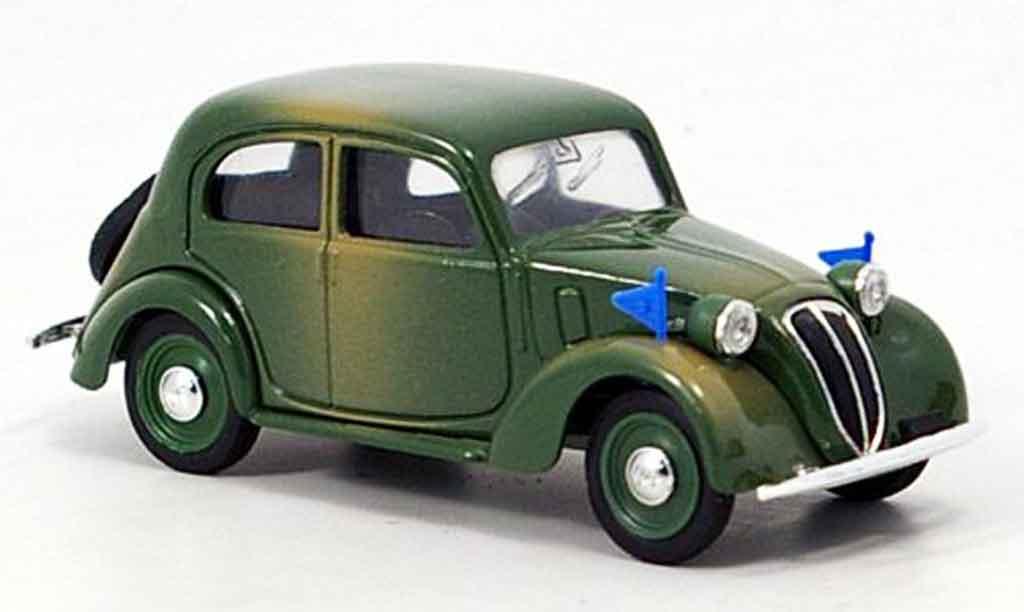 Fiat 1100 1937 1/43 Brumm Militar miniature