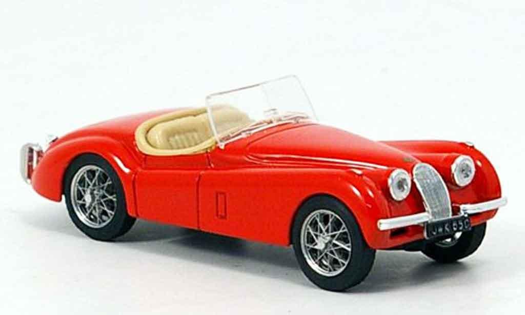 Jaguar XK 120 1/43 Brumm spider rouge offen 1948 miniature
