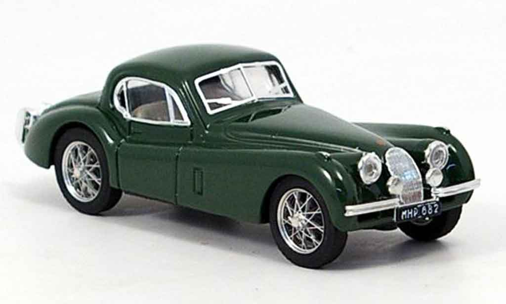 Jaguar XK 120 1/43 Brumm coupegrun 1948 miniature