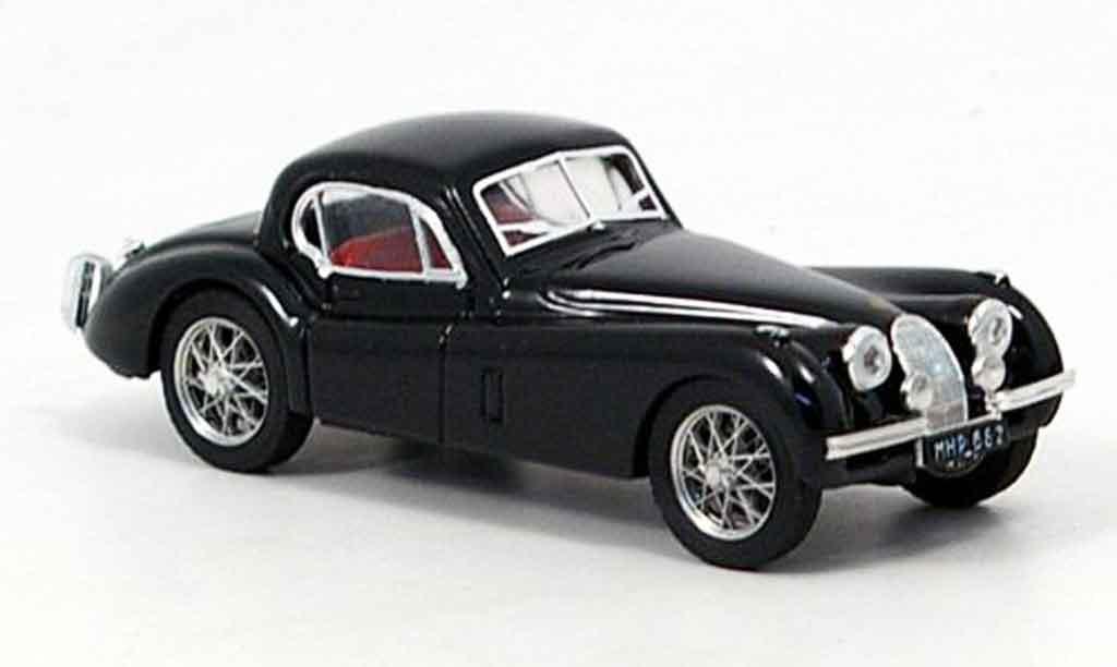 Jaguar XK 120 1/43 Brumm coupe noire 1948 miniature