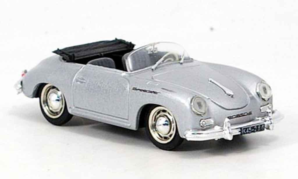 Porsche 356 1952 1/43 Brumm A Speedster grise metallisee miniature