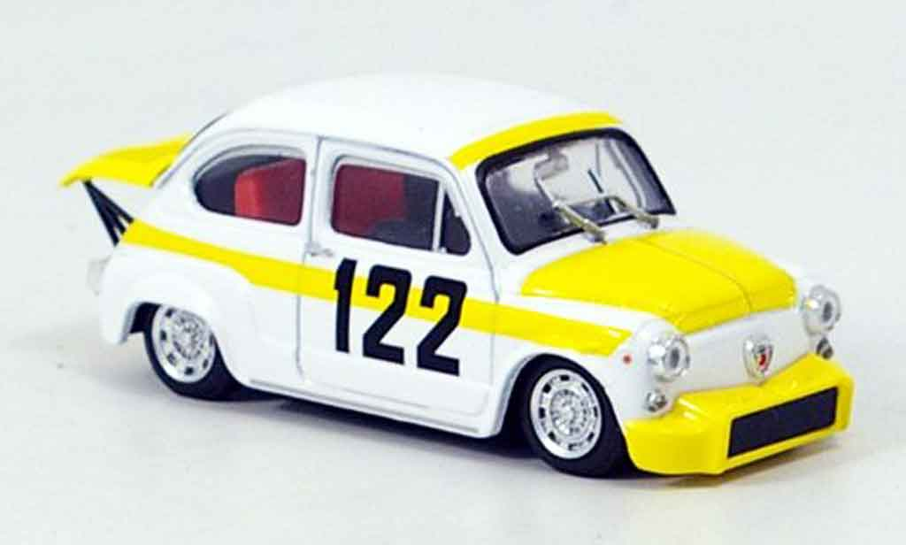 Fiat 850 1/43 Brumm Abarth TC No.122 Coppa Collina 1969 miniature